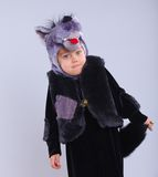 Child in fancy dress Royalty Free Stock Photo