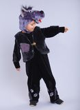 Child in fancy dress Stock Photo