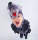 Child in fancy dress Stock Image
