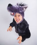 Child in fancy dress Royalty Free Stock Image