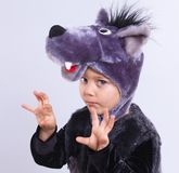 Child in fancy dress Stock Photos