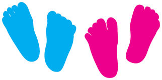 Child feet Royalty Free Stock Photography