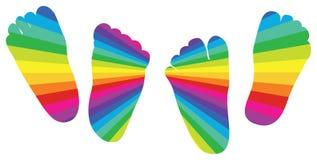 Child feet Stock Image