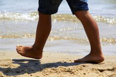Child  feet Royalty Free Stock Photos