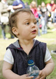 Child at festival Stock Photos
