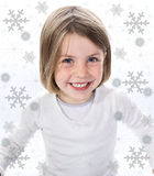 Child with Festive Smile Royalty Free Stock Images