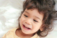 Child filled with joy Royalty Free Stock Images