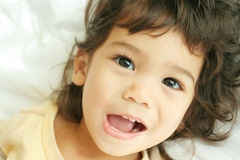 Child filled with joy Stock Image