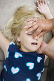 Child first aid Stock Images