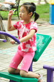 Child fitness Royalty Free Stock Images