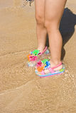 Child Flip Flops Royalty Free Stock Photography