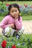Child flower Stock Photo