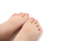 Child foot Royalty Free Stock Images