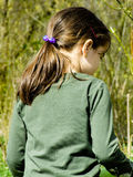 Child in the forest Royalty Free Stock Photo