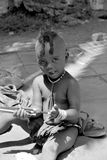 Child fron Himba tribe Stock Image