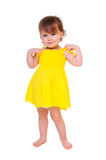 Child in full-length Stock Photography