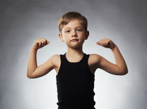 Child. Funny Little Boy.Sport Handsome Boy Stock Photo