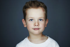 Child. funny little boy. 5 years old.Trendy children Stock Photography
