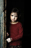 child in gate Royalty Free Stock Photo