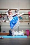 Child girl ballerina Royalty Free Stock Image