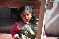 Child, Girl, Peru, Cute, Faces Royalty Free Stock Photo