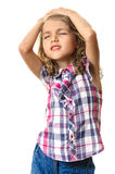 Child girl portrait Royalty Free Stock Photos