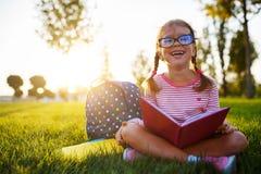 Child girl schoolgirl elementary school student. A child girl schoolgirl elementary school student royalty free stock photo