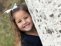 Child - girl smiling Royalty Free Stock Image