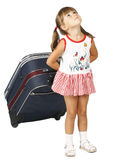 Child girl tour Stock Photo