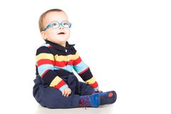 Child with glasses Stock Photos