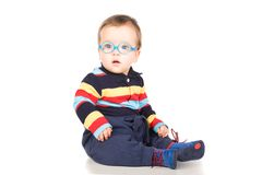 Child with glasses Royalty Free Stock Photo