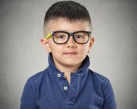 Child with glasses Royalty Free Stock Image