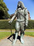 Child of Hale statue on a sunny summer day. A statue of the legendary Hale giant Royalty Free Stock Images