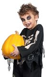 Child in halloween costume Royalty Free Stock Images