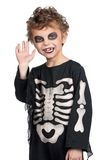 Child in halloween costume royalty free stock image