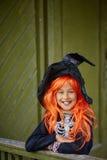 Child of Halloween Royalty Free Stock Photo
