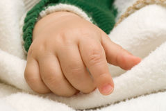 Child hand Royalty Free Stock Photography