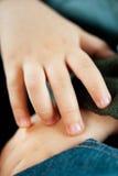 Child hand Royalty Free Stock Photo