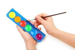 Child hand Stock Image