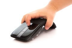 Child hand with Mouse. Child Stock Image
