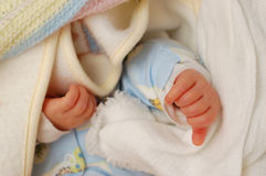 Child hands royalty free stock photos