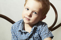 Child. Handsome little boy.Fashion Children Royalty Free Stock Photos
