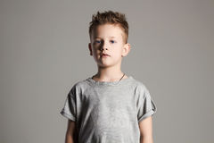 Child. handsome little boy. 7 years old kid Royalty Free Stock Photos