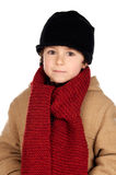 Child handsome very warm Stock Photo