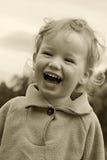 Child has fun Stock Image