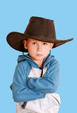Child in a hat Stock Images