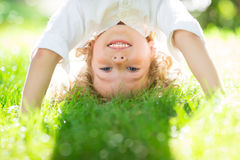 Child having fun Royalty Free Stock Photos
