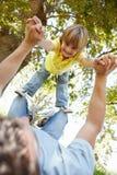 Child having fun at park Stock Photos