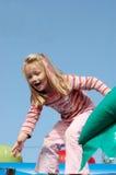 Child having great fun Stock Photography