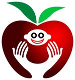 Child health logo Royalty Free Stock Photo